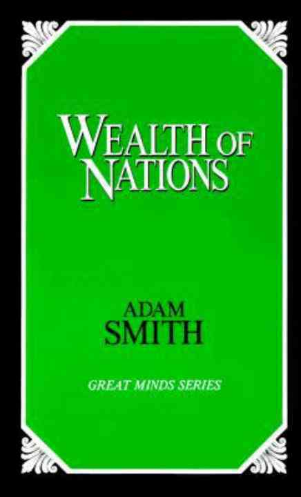 Wealth of Nations By Smith, Adam